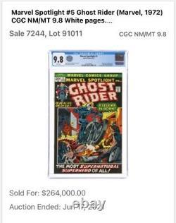 Marvel Spotlight 5 CGC 9.2 1st Ghost Rider Johnny Blaze App. 2010513001