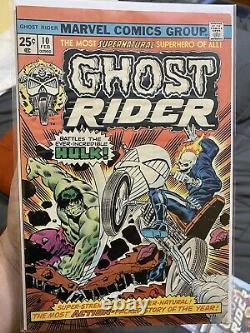 Marvel Spotlight 5 CGC & Ghost Rider 1, 2, & 10 Ghost Rider Key Issues Set