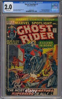 Marvel Spotlight #5 Cgc 2.0 1st Ghost Rider