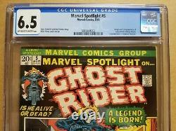 Marvel Spotlight #5 Cgc 6.5 (fn+) Origin & 1st Ghost Rider Appearance 1972 Key