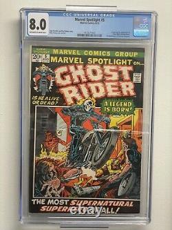 Marvel Spotlight 5 Cgc 8.0 1st App Ghost Rider