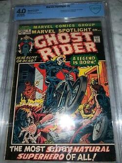 Marvel Spotlight #5 Marvel 1972 CBCS 4.0 Origin 1st Appearance of Ghost Rider