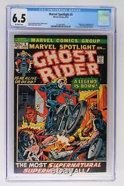 Marvel Spotlight #5 Marvel 1972 CGC 6.5 Origin & 1st Appearance of Ghost Rider