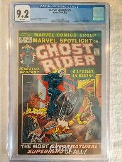 Marvel Spotlight #5 VERY RARE CGC 9.2 WHITE PAGES 1st Appearance Of Ghost