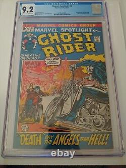 Marvel Spotlight #6 CGC 9.2! 2nd appearance of Ghost Rider 1972