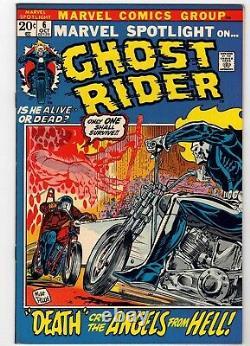 Marvel Spotlight #6 Ghost Rider Origin Issue Cgc It! Nm-