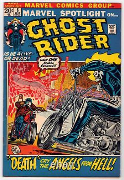 Marvel Spotlight #6 Ghost Rider Origin Issue Cgc It! Vf