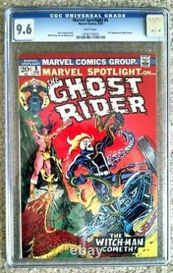 Marvel Spotlight # 8 CGC 9.6 NM+ 1st App Snake Dance 4th Ghost Rider