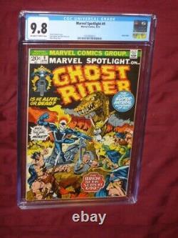 Marvel Spotlight #9 CGC 9.8 Ghost Rider