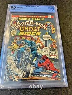 Marvel Team-Up #15 CBCS 8.0 Spider-Man Ghost Rider Nice book
