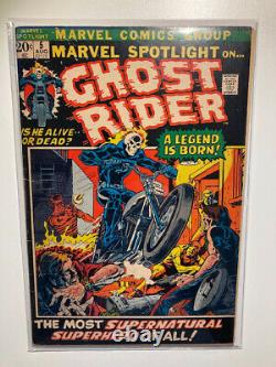 Marvel spotlight 5 ghost rider cgc