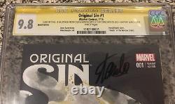 Original Sin #1 CGC 9.8 Ghost Rider Stan Lee Signed & Sketch Ben Templesmith