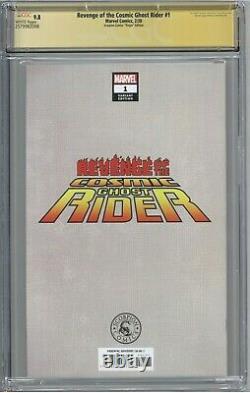 Revenge of the Cosmic Ghost Rider #1 CGC 9.8 SS Scorpion Comics Virgin Crain COA