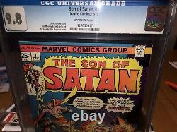 Son Of Satan 1 Cgc 9.8 Only 20 Exist In 9.8! Damon Hellstrom