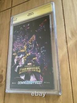 THANOS #13 CGC 9.4 Marvel Rare 125 Albuquerque Variant 1st Cosmic Ghost Rider