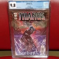 THANOS #15 9.8 CGC 4th Print Cosmic Ghost Rider is. 1st The Fallen One cameo