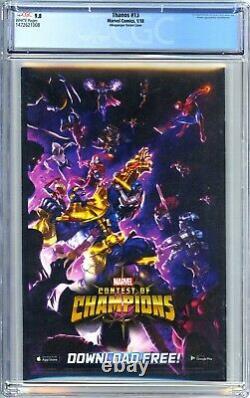 Thanos #13 (2017) Albuquerque Variant CGC 9.8 1st Cosmic Ghost Rider