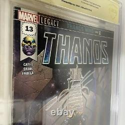 Thanos 13 CBCS 9.6 Not CGC, Signed By Donny Cates, 1st Punisher as Ghost Rider