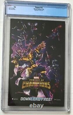 Thanos #13 CGC 9.6 Alburquerque Variant 1st Cosmic Ghost Rider- HTF