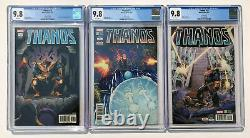 Thanos #13 CGC 9.8 2nd 3rd & 4th Prints All 3! Marvel Comics Cosmic Ghost Rider
