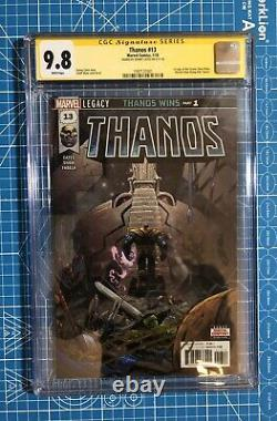 Thanos #13 CGC 9.8 SS Signed by Donny Cates FIRST PRINT 1st Cosmic Ghost Rider