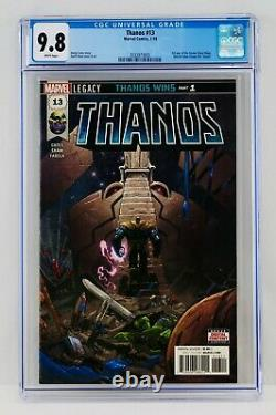 Thanos #13 CGC 9.8 WP First Cosmic Ghost Rider Appearance 1st Print Printing App