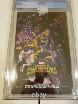 Thanos #13 Cgc 9.6 125 Albuquerque Variant 1st Cosmic Ghost Rider Very Rare