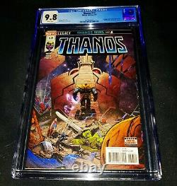 Thanos #13 Cgc 9.8 1st Appearance Of Cosmic Ghost Rider! White Pages 2018