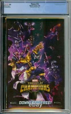 Thanos #13 Cgc 9.8 White Pages // 1st Cosmic Ghost Rider Albuquerque Variant