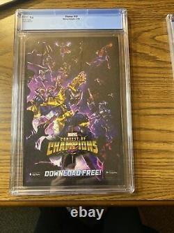 Thanos #13 Cosmic Ghost Rider 1st App CGC 9.6 1st Print! NM+