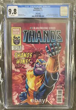 Thanos #13 Fifth Print Variant CGC 9.8 1st appearance Cosmic Ghost Rider 5th
