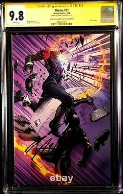 Thanos #17 Cgc Ss 9.8 Donny Cates Virgin Cosmic Ghost Rider Silver Surfer Black