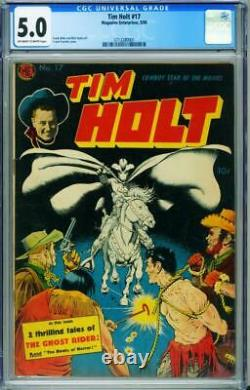 Tim Holt Comics #17 CGC 5.0-1950-Frank Frazetta-Ghost Rider-3713280001