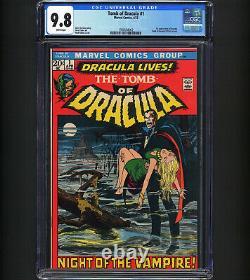 Tomb of Dracula #1 CGC 9.8 RECENT SALE $16800 1st App Dracula & Van Helsing WOW
