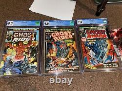 Ultimate Ghost Rider Lot Marvel Spotlight 5 CGC 4.0 + Ghost Rider 1-81 + More